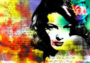 Emotions Prints - She knew Print by Ramneek Narang