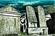 Tombs Digital Art - She Looks Where She last Lay by James Griffin