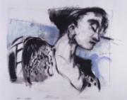 She Pauses Print by Mykul Anjelo