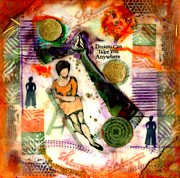 African-american Mixed Media Prints - She Remained True Print by Angela L Walker