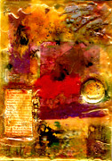 African-american Mixed Media Posters - She Wants Gold for Her Cherries Poster by Angela L Walker