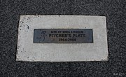 New York Baseball Parks Prints - Shea Stadium Pitchers Mound Print by Rob Hans