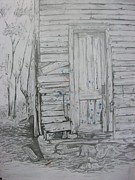 Shed Drawings - Shed  by Elisha  Roberts