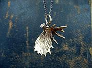 Animals Jewelry - Shed Moose Antler Pendant by Michael  Doyle