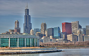 Lake Shore Drive Prints - Shedd Aquarium at the Lake Print by David Bearden