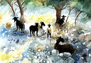 Lydia Irving - Sheep and Goats