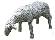 Decorative Sculptures - Sheep by Katia Weyher