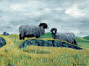 Graeme Robinson - Sheep Ont Fell Autumn