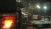 Production Photos - Sheet Mill Processing Molten Metal by Ria Novosti