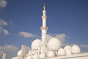 Aussenaufnahme Framed Prints - Sheikh Zayed Mosque in Abu Dhabi Framed Print by Peter Schickert