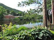 Randi Shenkman Photo Prints - Shelburne Falls Print by Randi Shenkman