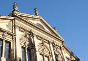Neo-classical Framed Prints - Sheldonian facade Framed Print by Andrew  Michael