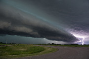 Jennifer Brindley - Shelf Cloud and Lightning