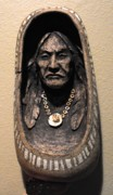 Native American Ceramics - Shell Necklace by Gaylon Dingler