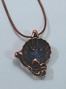 Nouveau Jewelry - Shell star fish pendant by Michelle  Robison