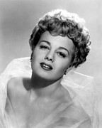 Winters Framed Prints - Shelley Winters, 1951 Framed Print by Everett