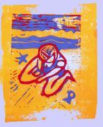 Shellie - Summer Experiment Print by Adam Kissel