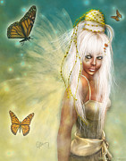 Fantasy Art - Shelly Shantee by Debbie Wilson