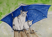 Shelter Print by Carol Blackhurst