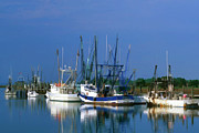 Fishing Creek Prints - Shem Creek - FS000295b Print by Daniel Dempster