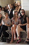 Mercedes-benz Fashion Week Show Art - Shenae Grimes, Nicky Hilton, Rachel by Everett