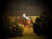 Winter Landscapes Photos - Shenandoah Mountain Barn by Joyce  Kimble Smith