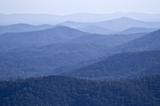 Scenic Drive Metal Prints - Shenandoah Mountains Metal Print by Pierre Leclerc