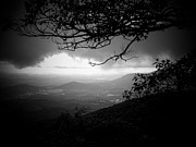 Mountain Valley Photo Prints - Shenandoah Storm Print by Michael L Kimble