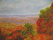 National Pastels Originals - Shenandoah Valley I by Zoran Markovik