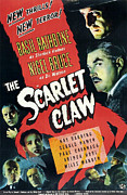 Claw Posters - Sherlock Holmes And The Scarlet Claw Poster by Everett