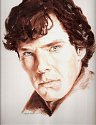 Benedict Painting Framed Prints - Sherlock Framed Print by Karl Opanowicz