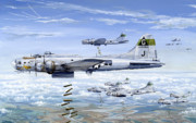 Air Corps Art - Shes A Honey 1 by Charles Taylor