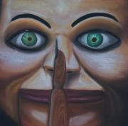 Dark Pastels Originals - Shhh by Joe Dragt