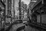 Surrounding Wall Prints - Shibuya River Print by photos by Ignat Gorazd