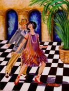 Shimmy-shake Print by Carol Allen Anfinsen