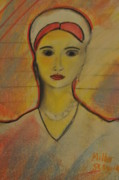 Sad Pastels Originals - Shine a light on me by Miller Scoville