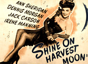 Lobbycard Prints - Shine On Harvest Moon, Ann Sheridan Print by Everett