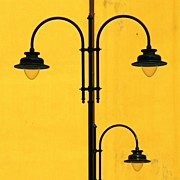 Featured Posters - Shine On.. #italy #lamppost Poster by A Rey