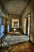 Haunted House Photos - Shine on my chair by Nathan Wright