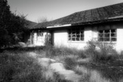 Abandoned Houses Framed Prints - Shine On Framed Print by Wayne Stadler