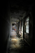 Abandoned Buildings Framed Prints - Shine Through Framed Print by Emily Stauring