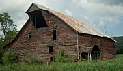 Tin Roof Prints - Shingle Barn 2 Print by Douglas Barnett