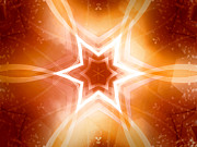 Destiny Metal Prints - Shining Star Metal Print by Ann Croon