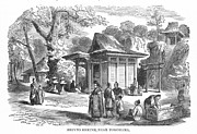 Japanese Village Prints - SHINTO SHRINE, 19th CENTURY Print by Granger