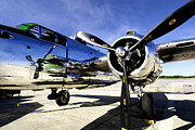 P51 Photo Posters - Shiny Poster by Greg Fortier