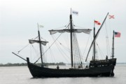 Windjammer Photos Prints - Ship 13 Print by Joyce StJames