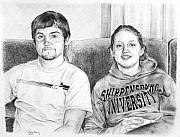 Shading Drawings - Shippensburg University by Rod Varney