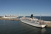 Tallinn Photos - Ships at Port by Jaak Nilson