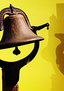 Shadows Photos - Ships Bell by Rebecca Sherman