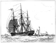 Merchant Ship Prints - Ships: East India Company Print by Granger